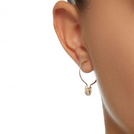 boucle d'oreille epingle a nourrice
